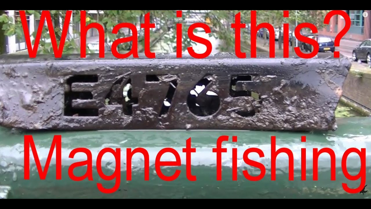 Magnet fishing 22 magneetvissen the hague youtube for Best places to magnet fish