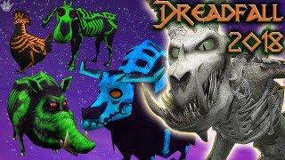AMAZING DREADFALL UPDATE! Halloween Animals! School of Dragons