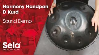 Sela SE 204 Harmony Handpan D Kurd Steel