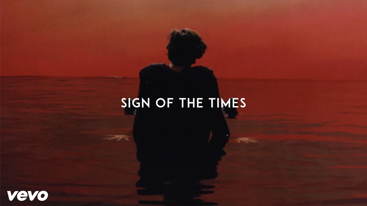 Image result for harry styles sign of the times album cover