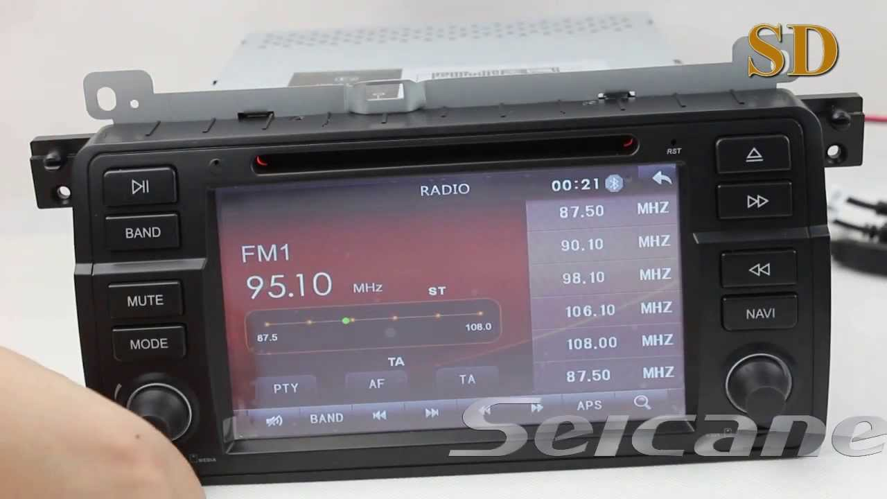 Bmw 320i 323i 323ci 325i 328i 328ci Dvd Player Gps Radio