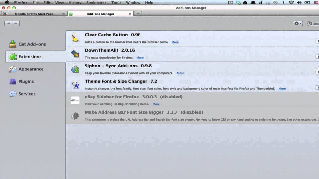 How to Edit the Menu Bar Size on Firefox or Chrome : Google & Internet  Browser Tips