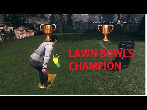 Lawn Bowls Champion Trophy Achievement Sherlock Holmes The Devils Daughter