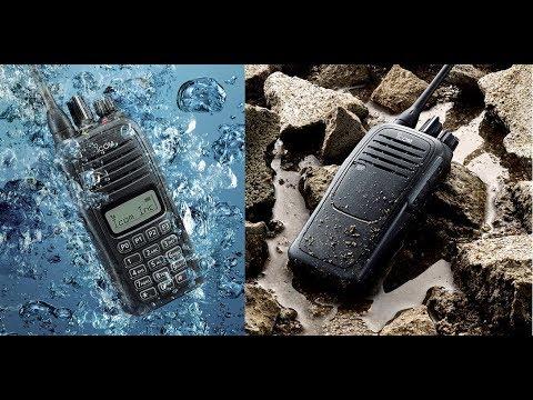 Icom IC-F1000 és IC-F2000 kézi URH rádiók bemutatása