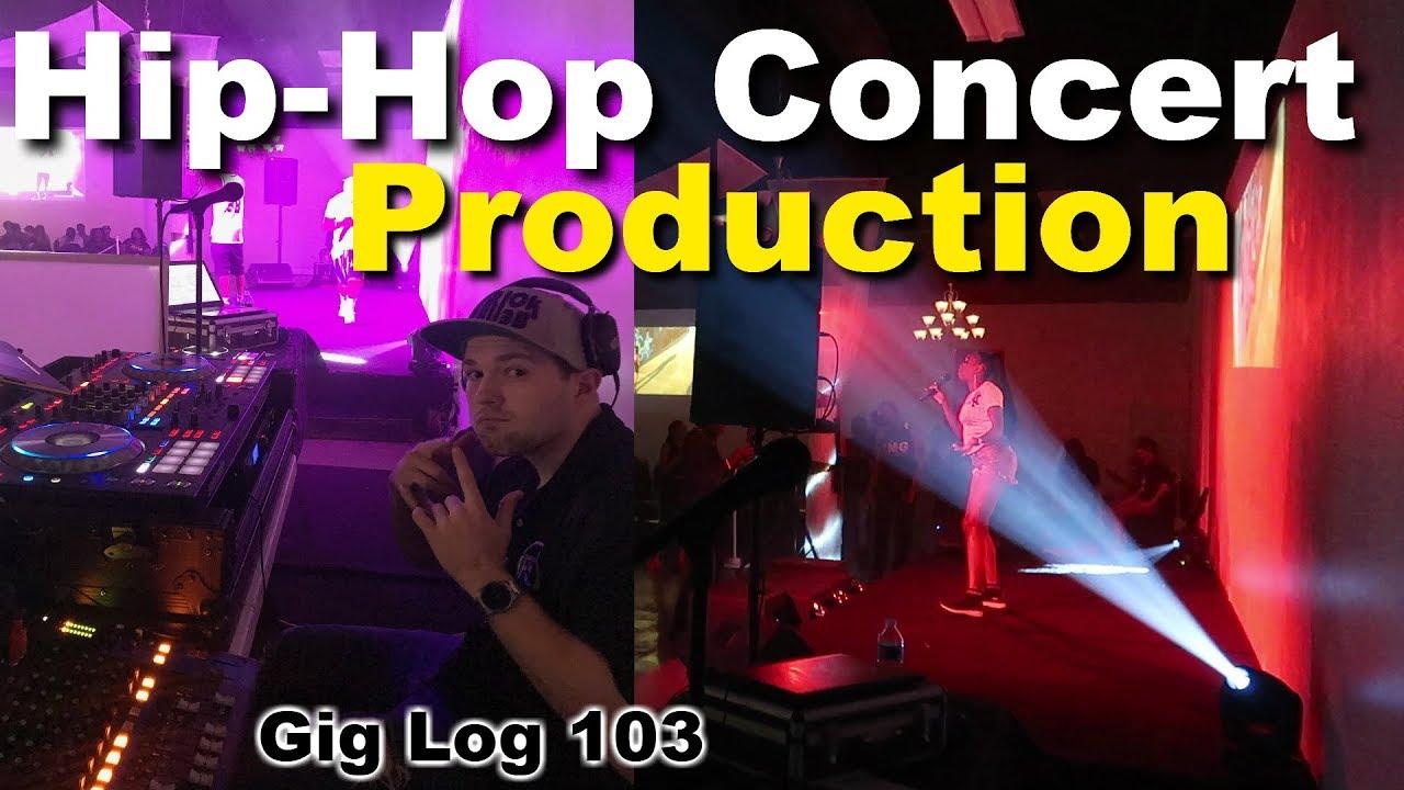 DJ GIG Log 103: Hip-Hop Concert Production 2019 | How a small productions  work