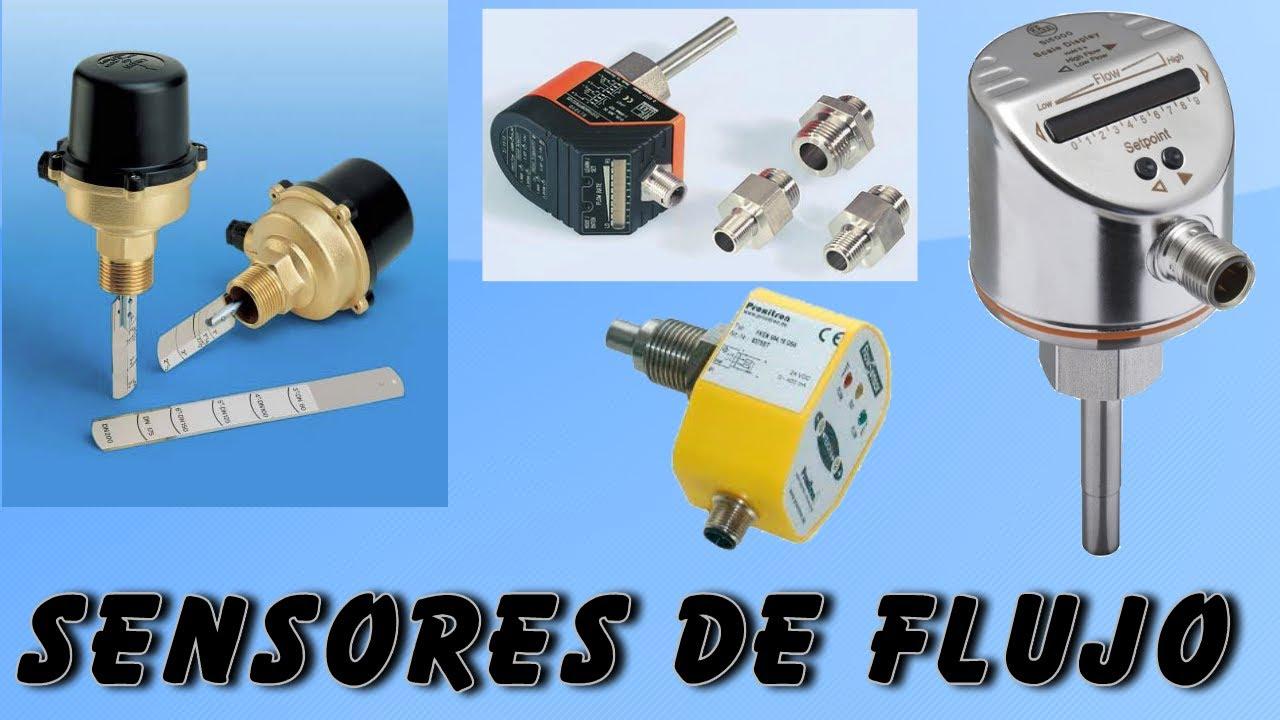 Sensores Flujo para Liquidos : Tipos y caracteristicas