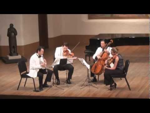 Sean Shepherd Quartet for Oboe and Strings | L. Wang, G. Schmidt, L. Francis, F. Fan