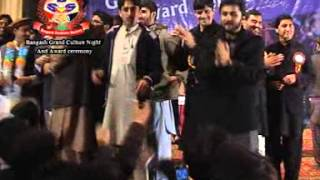 Musharaf Bangash New Video Song (PUKHTOON KHAWA WATAN) Bangash Night 2013 Nishter Hall
