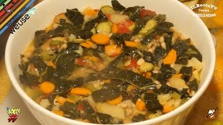 64 - Zuppa alla contadina..e ti viene l'acquolina (primo piatto vegetariano sano light ed economico)