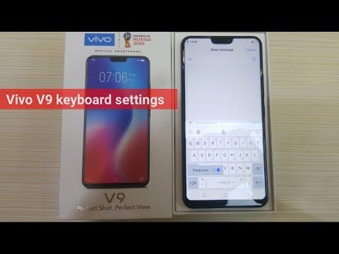 Vivo V9 keyboard settings | vivo mobile