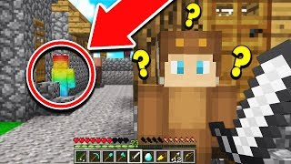 RAINBOW STEVE FOUND IN MINECRAFT /W MOOSECRAFT! (SCARIEST VIDEO EVER!)
