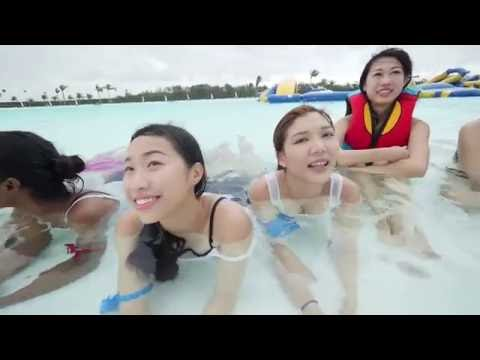 Miss Singapore 2016; Reveals : Episode 1 - Team Challenge @ Treasure Bay Bintan & The Canopi