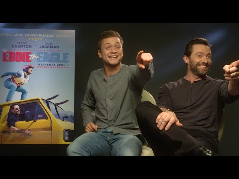 Hugh Jackman and Taron Egerton recreate Dirty Dancing and sing a duet