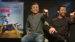 Hugh Jackman And Taron Egerton Recreate Dirty Dancing And Sing A Duet