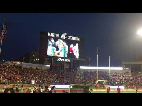 2017 WSU Football Martin Stadium Intro