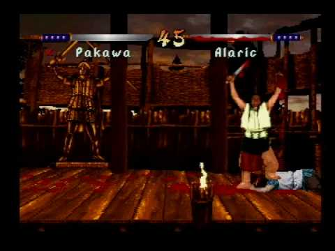 Kasumi Ninja - Atari Jaguar - Fatality Demonstration