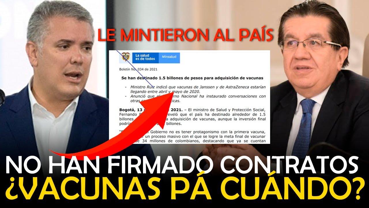 NO HAN FIRMADO CONTRATOS / Ivan Duque  - Fernando Ruiz