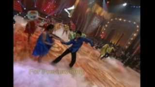 DWTS Indonesia Season 1 Episode 7 - All ProDancers ( Satisfy My Soul - Rumba; Hey Mama - Samba )
