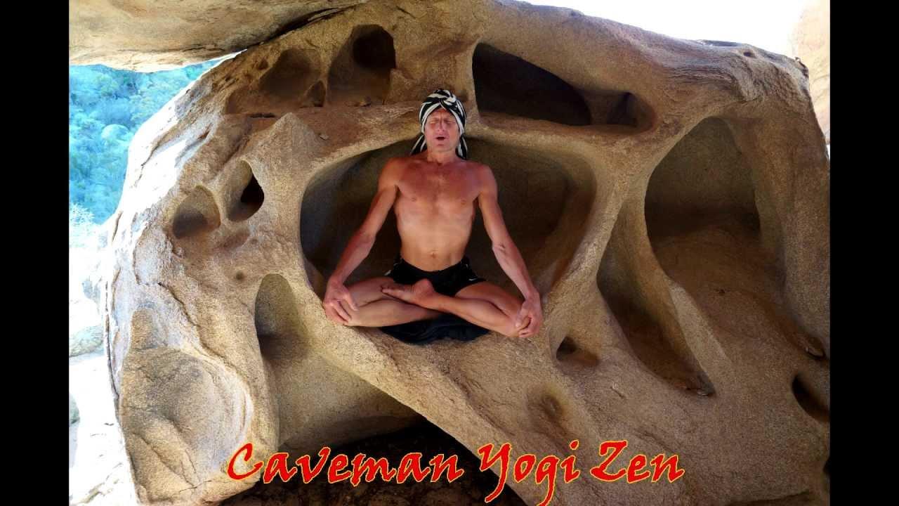 Caveman Yoga : National geographic: featuring yogi zen & the elixer of immortality