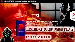 Descargar e instalar Sound Forge Pro 12 full español
