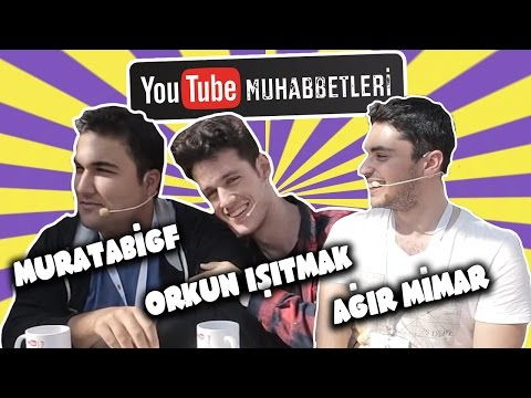 MURATABİGF & ORKUN IŞITMAK & AĞIR MİMAR - YouTube Muhabbetleri #35