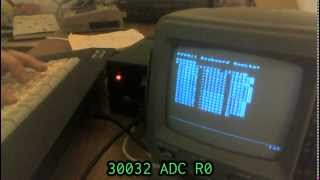 PDP-11 machine code on a BK-0011
