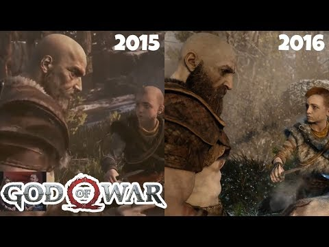 God of War: DEMO extendida 2015 vs 2016 vs Artes Conceptuales | SQS