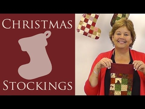 Quilted Christmas Stocking: An Easy Quilting Project with Jenny of Missouri Star Quilt Co