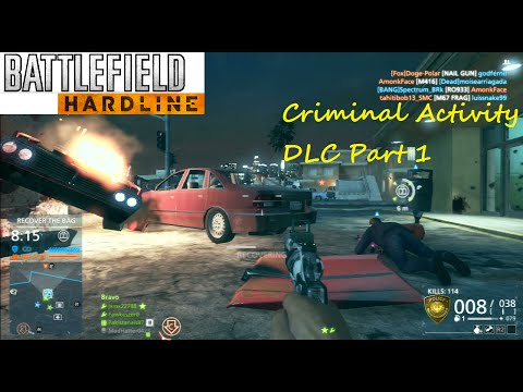 Battlefield Hardline PS3 Multiplayer - Criminal Activity DLC Part 1