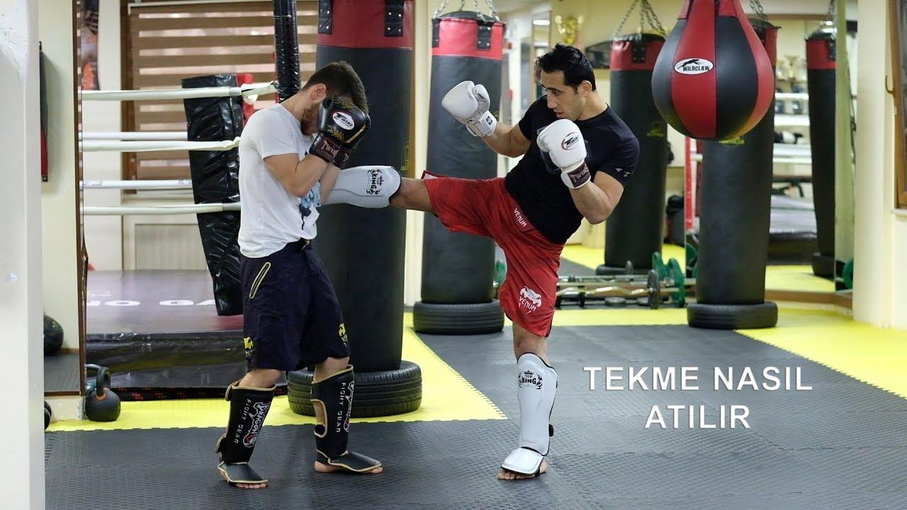 Kickboks teknikleri TEKME NASIL ATILIR
