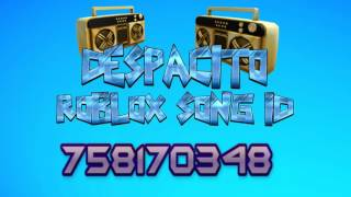 Despacito song ID (english) - Roblox