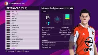 eFootball PES 2020 (PS4) - FEYENOORD CLASSIC ALL TIME XI (65/100)