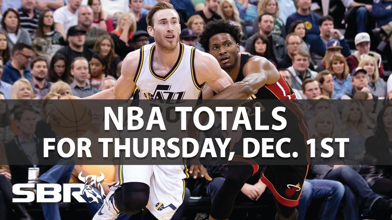 NBA Picks | Game Totals For Thursday, December 1st