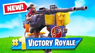 *NEW* Mounted Turret & Food Fight LTM Update in Fortnite Battle Royale! (Fortnite LIVE Gameplay) thumbnail