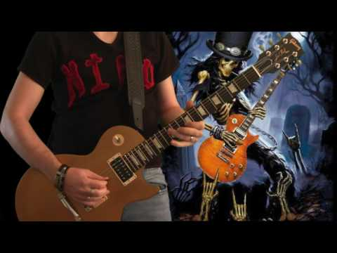 Slash - The Godfather Theme Live in Tokyo 1992 (guitar cover + impro)
