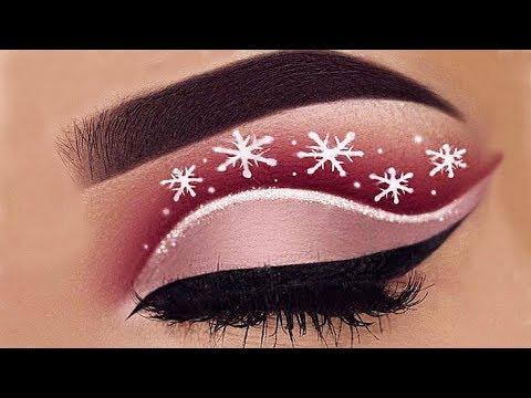Eye Makeup Compilation - December 2017 | Creative Christmas Make-up.Part#10.