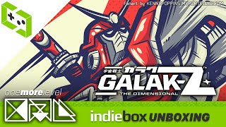 Galak-Z: The Dimensional - IndieBox April 2016 Unboxing & Review - OML