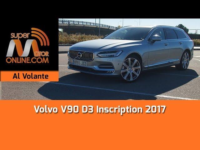 Volvo V90 2017 / Al volante / Prueba dinámica / Review / Supermotoronline.com