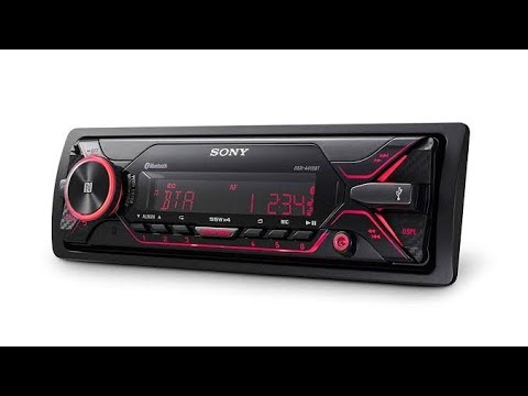 Sony DSX A-416BT Car Stereo System|| Best In Class||NFC,USB,BLUETOOTH,AUX, 220W||by Sanghalcreations