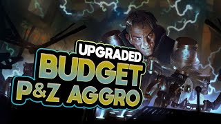 This BUDGET Aggro Deck Is now even MORE STRONGER | Legends of Runeterra