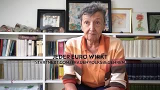 Christine Nöstlinger über das Frauen*volksbegehren 2.0