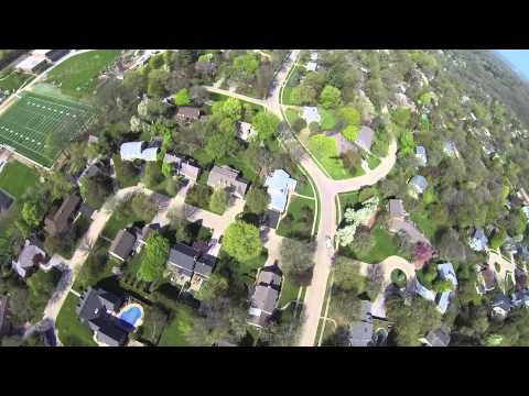 A Flight Around Iowa City