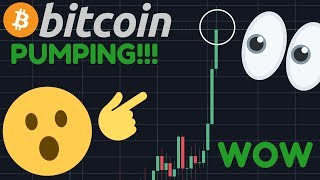 WOOOW!!! BITCOIN IS BREAKING OUT RIGHT NOW!!!!! IS THIS THE START OF THE BTC BULL RUN?!!!