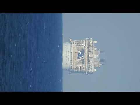 Zooming In On A Ship Which Has Disappeared Over The Horizon Proves Flat Horizon