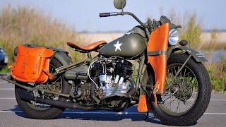 Топ военных мотоциклов