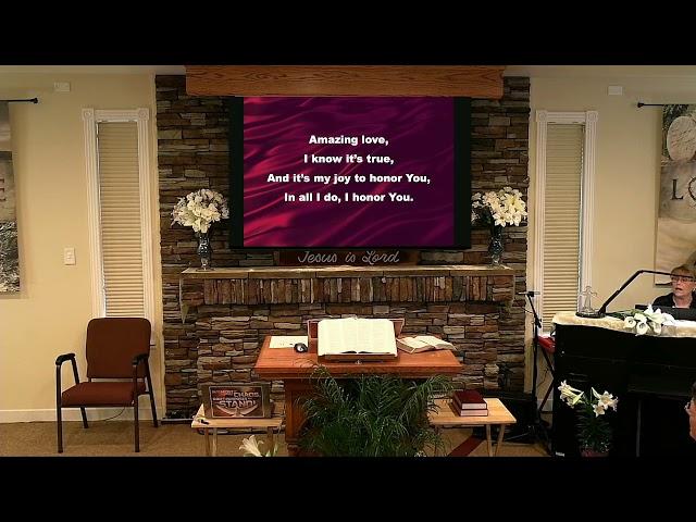 Sunday Service - Apr 11, 2021 - Heb 4:12-13 Open Heart Surgery
