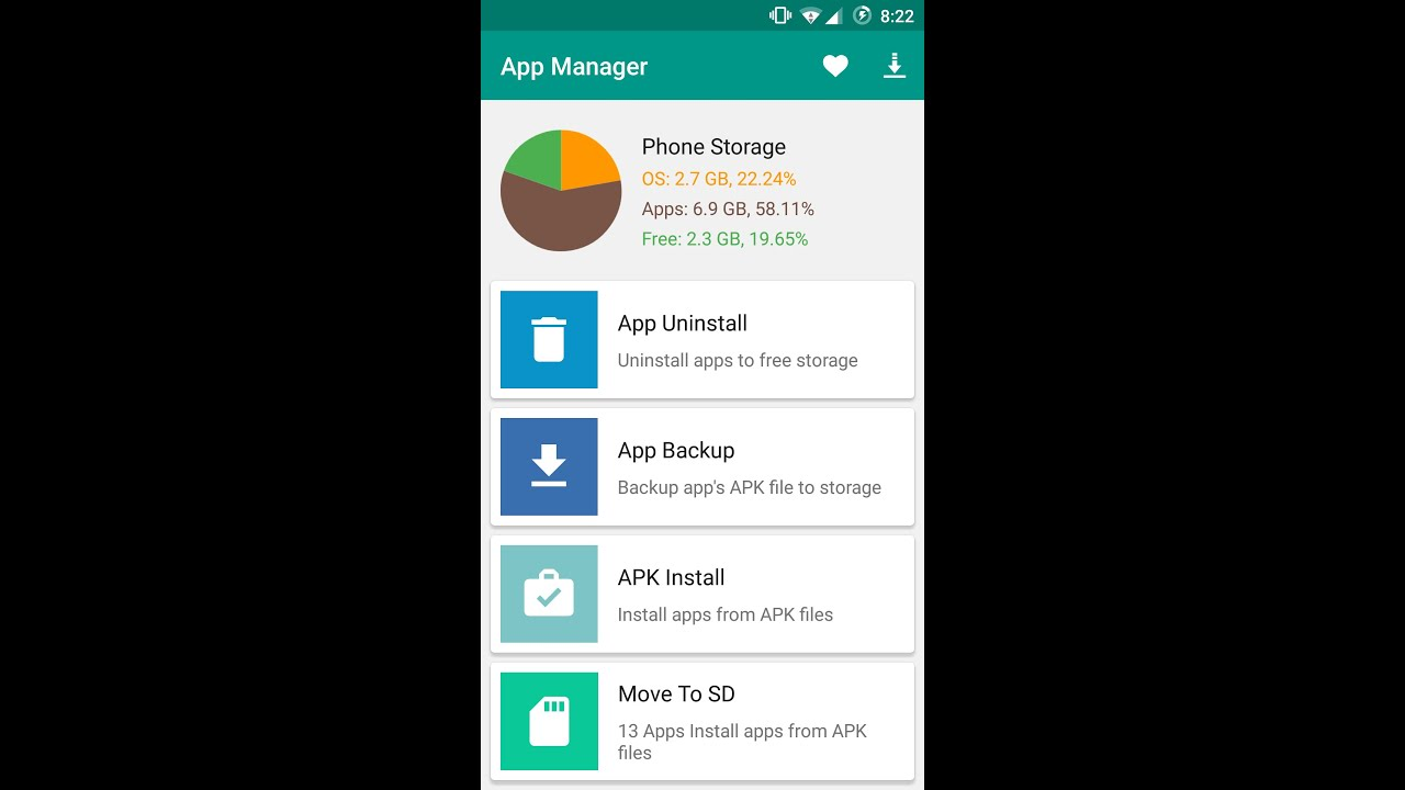 Android App Manager Introduction