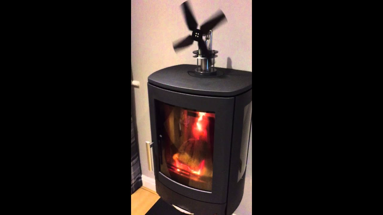 Wood Stove Stirling Engine Fan. - Wood Stove Stirling Engine Fan. - YouTube