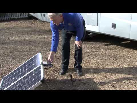 RV Portable Solar Charging System presented by RV Education 101®