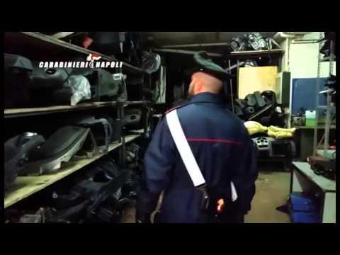 Napoli - Traffico internazionale di auto rubate: 13 arresti (12.02.15)